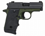 Sig Sauer P238 Army Green w/ Night Sights .380ACP 238-380-AGF