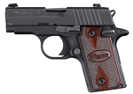 Sig Sauer P238 Rosewood Nitron 380ACP Night Sights 238380RG