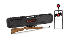 Ruger 10/22 w/ Weaver 3-9x40 Scope & Spinner Target .22LR 31104