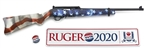 Ruger 10/22 American Flag Go Vote Threaded Barrel .22LR (31154) 31154