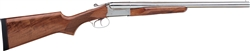 Stoeger Coach Gun Supreme: Double Triggers Polished Nickel 12GA