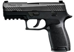 Sig Sauer P320 Compact Night Sights 15+1 9mm 320C-9-BSS
