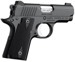 Kimber Micro Carry Black .380ACP 3300082