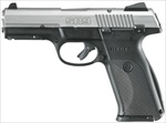 "Ruger SR9 Stainless Full Size 4.14"" Barrel 17+1 Capacity 9mm 3301"