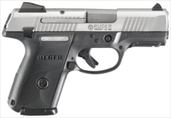 "Ruger SR9 Compact Stainless 3.5"" Barrel 17+1 / 10+1 Mags 9mm 3313"
