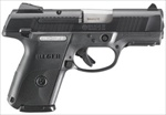 "Ruger SR9 Compact Nitride Black 3.5"" 17+1 / 10+1 Mags 9mm 3314"