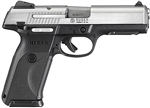 "Ruger SR45 Stainless Full Size 4.5"" Barrel 10+1 Capacity .45ACP"