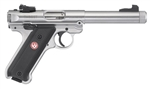 "Ruger Mark IV Target Stainless Threaded 5.5"" 22LR 40126"