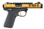 "Ruger Mark IV 22/45 Lite Gold Anodized 4.4"" 22LR 43926"