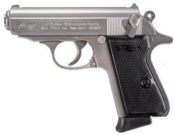 Walther PPK/S Stainless Steel 7+1 .380ACP 4796004