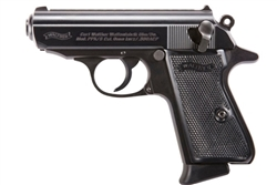 Walther PPK/S Blued Steel 7+1 .380ACP 4796006