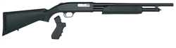 "Mossberg 500 Package: 18.5"" Barrel w/ Stock + Pistol Grip 6- Shot 20GA 50452"