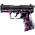 Walther PK380 in Muddy Girl Camo 8+1 Capacity .380ACP 5050306