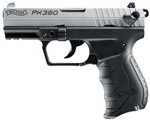 Walther PK380 Two-Tone Nickel