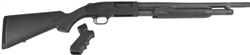 "Mossberg 500 Package: 18.5"" Barrel w/ Stock + Pistol Grip 6- Shot 12GA 50521"