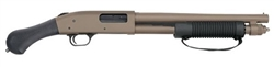 "Mossberg 590  Shockwave FDE 14"" Barrel 6- Shot Parkerized 12-Gauge 50653"