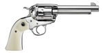 "Ruger Vaquero 5-1/2"" Bisley Stainless .357MAG 5130"