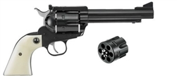 "Ruger Blackhawk Convertible 45LC / 45ACP Blued 5 1/2"" 5240 Lipseys' exclusive flat top"