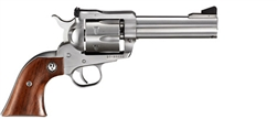 "Ruger Blackhawk Flat Top Convertible 357MAG/38SPL/9mm Stainless 4.6"" 5245"