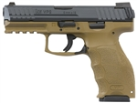HK VP9 FDE Striker Fire w/ Night Sights 9mm 700009FDELE-A5