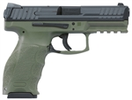 HK VP9 OD Green Striker Fire w/ Night Sights 9mm 700009GRLE-A5