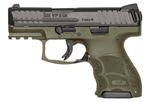 Heckler & Koch VP9SK OD Green Frame Striker Fired 10+1 9mm w/ Night Sights 81000098