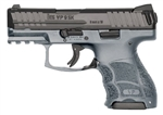 Heckler & Koch VP9SK Grey Frame Striker Fired 10+1 9mm w/ Night Sights 81000100