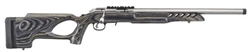 "Ruger American Rimfire Target Threaded Thumbhole Stainless Steel 18"" Barrel 10RD MAG .22LR 8366"