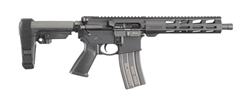"Ruger AR-556 Pistol 10.5"" SBA3 Brace Direct Gas Impingement .223/5.56 8572"