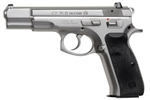CZ 75B: Full Size Matte Stainless 9mm (16+1) 91128