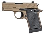 Sig Sauer P938 Emperor Scorpion 9mm w/ Night Sights 938-9-ESCPN-AMBI
