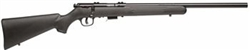 Savage 93R17FV Hvy Bbl Blued Synthetic: .17HMR