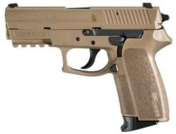 Sig Sauer P2022 Flat Dark Earth 9mm w/ Night Sights E2022-9-FDE