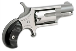 "NAA Mini Revolver Black Pearlite Bird's Head Grip 22LR 1-1/8"" NAA-22LR-GP-B"