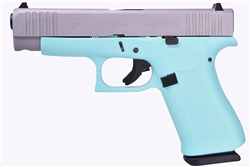 Glock 48 Robin's Egg Blue 9mm PA485SL201REB