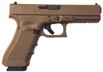 Glock 20 GEN4: Full Flat Dark Earth 10MM (15 Rd Mags) PG2050204D