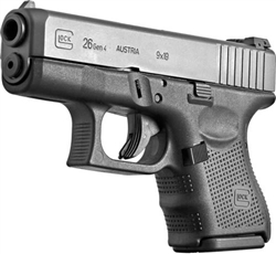 Glock 26 GEN4: *Homeland Security* 9MM PG2650202