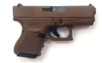 Glock 26 GEN4 Full Flat Dark Earth 10+1 9mm PG2650204D