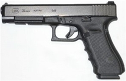 Glock 34 GEN4: Tactical 9mm (17- Round Magazines) PG34300103