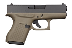 Glock 43 OD Green Frame 9mm PI4357201