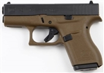 Glock 42 Flat Dark Earth .380 ACP UI4250201DE