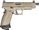 "Springfield XD(M) Elite 4.5"" Threaded OSP FDE 22+1 9mm  XDMET9459FHCOSP"