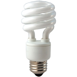 Eiko 06131 SP13/65 13W 120V 6500K Spiral Shaped CFL,PL13SE/65K 13W 6500K Mini Coil Light E26 Base,CF13/65 #45107, Spiral Bulb, Coil Bulb, CFL, Energy Saving Bulb, Fluorescent Retrofit