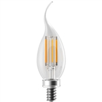 LED4WBA11E12/FIL/827K-DIM-G6, Eiko#09312 LED4WBA11E12/FIL/827K-DIM-G6, LED Advantage Filament,Eiko #09312 LED4WBA11E12/FIL/827K-DIM-G6