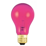 25A19/TRANSPARENTPURPLE/130V 25 WATT PURPLE A19 E26 BASE, 25A19TP, 25A19/TPURPLE, 25 WATT A19 TRANSPARENT PURPLE