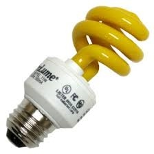 PL11SE/YELLOW/120V YELLOW COIL LIGHT E26 BASE, PL11SE/YELLOW, 11 WATT YELLOW COIL LIGHT