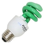 PL11SE/GREEN/120V GREEN COIL LIGHT E26 BASE, PL11SE/GREEN, 11 WATT GREEN CFL 120 VOLT E26 BASE
