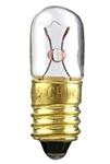 3T3 1/4/MS/28 Volt Miniature Bulb E10 Base,3T3 1/4/MS/28 Volt E10 Base, 3T3.25/MS/28V, 3 Watt T3.25 Clear, 28 Volt E10 Base, 3T3.25MS28V, 3 Watt T3-1/4 Clear Miniature Screw Base 28 Volt