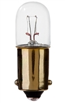 #1826 MINIATURE BULB BA9S BASE, T3 1/4 M BAY 18V .15A 2.7CP, 1826, #1826, #1826 MINIATURE, #1826 BULB, #1826 LAMP, #1826 INDICATOR, EIKO# 40375