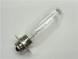 GE BXM (4A/9V) Exciter Lamp P30S Base, 4A-T8-SCP, GE# 23258, BXM Exciter Lamp